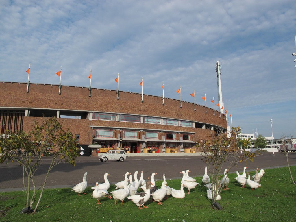 The Stadium is a popular tourist attraction and many creatures largen and small come to see it