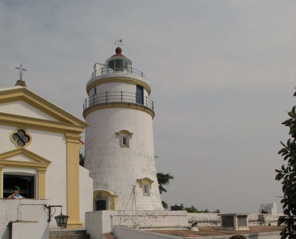 Guia Hill lighthouse, one of the cities most famous landmarks