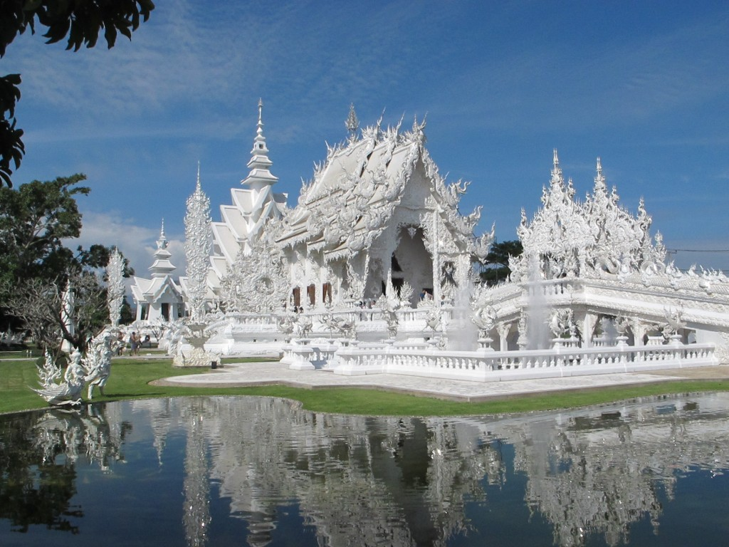 White Temple outside Chiang Rai